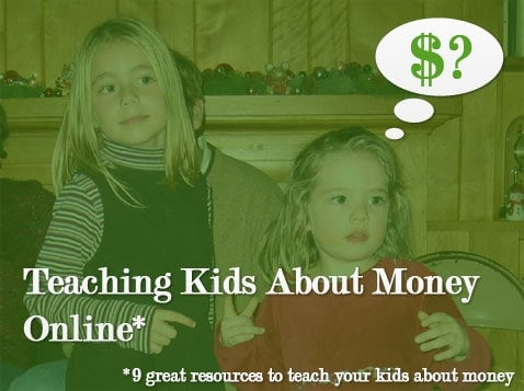 teaching children about money online