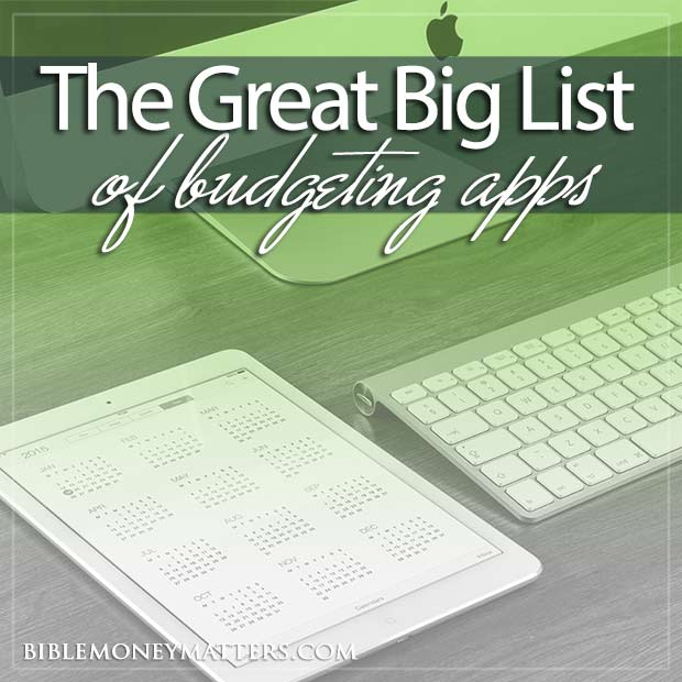 The Great Big List Of 75 Budgeting Tools Finance Software And Apps – Crown Financial Budget Worksheet