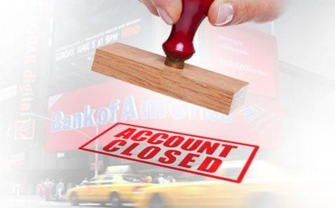 Closing a checking account?