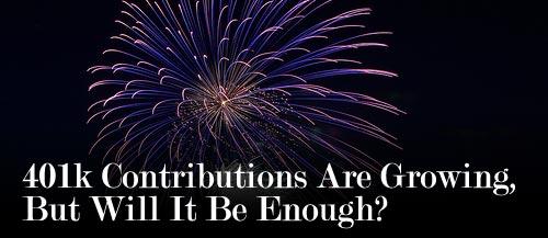 401k contributions