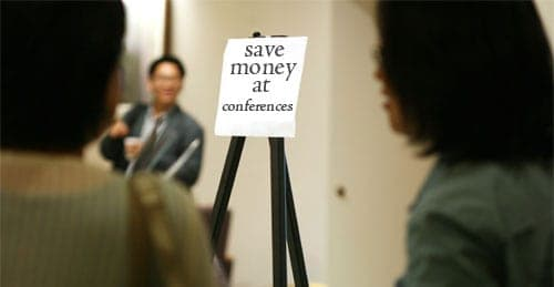 save-money-conferences