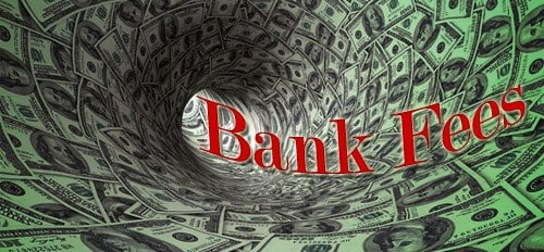 bank fees for debit