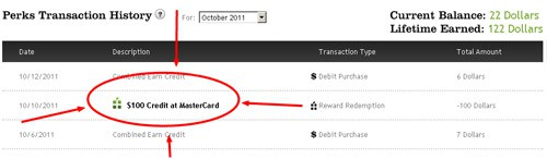 perkstreet- cash back