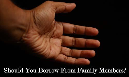 borrow from family