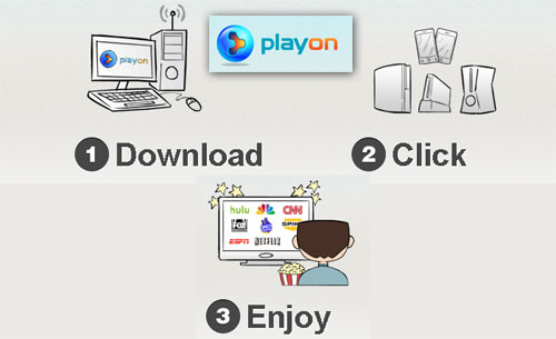Playon video streaming software