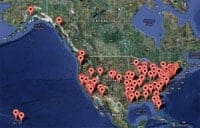 Lending Club Loans Map
