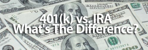401k vs IRA