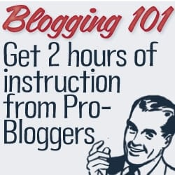 Blogging 101