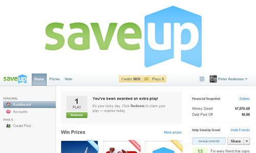 saveup dashboard