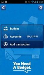 YNAB Mobile App