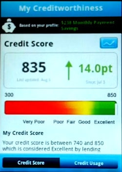 Credit Sesame Credit Score App