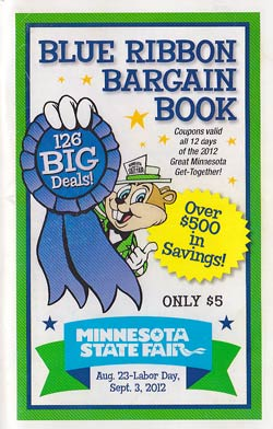 Minnesota State Fair Bargain Book