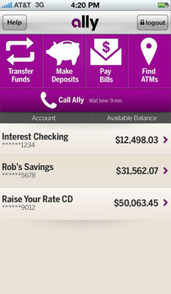 Ally Bank Remote Deposit App
