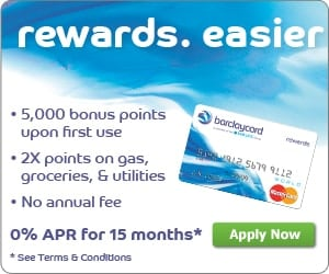 Barclaycard Rewards Card