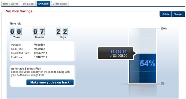 Capital One 360 Savings Goals