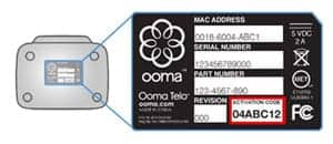 ooma activation code