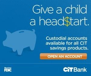 custodial savings accounts