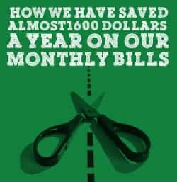 Save On Regular Monthly Bills