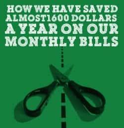 Save On Regular Monthly Bills