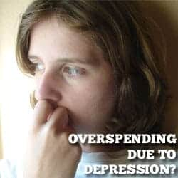 overspending due to mental health issues
