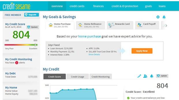credit-sesame-credit-score
