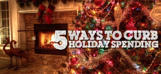 ways to curb holiday spending