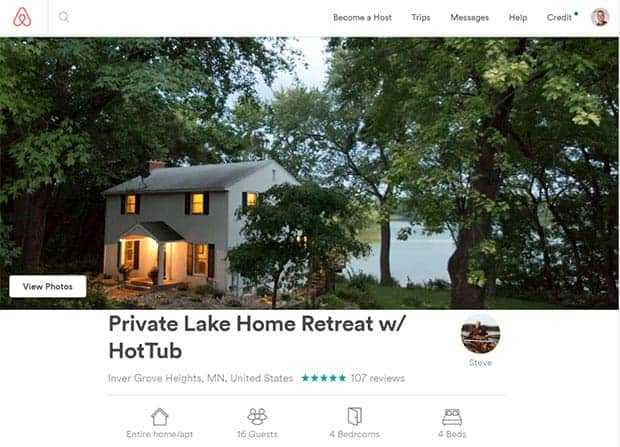 create your airbnb listing