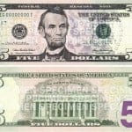 new redesigned 5 dollar bill