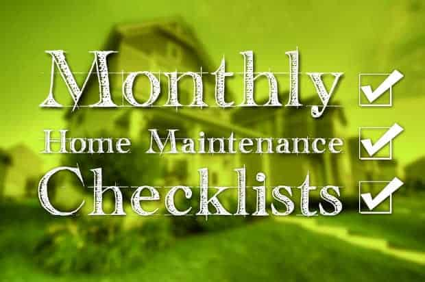 monthly-home-maintenance-checklist