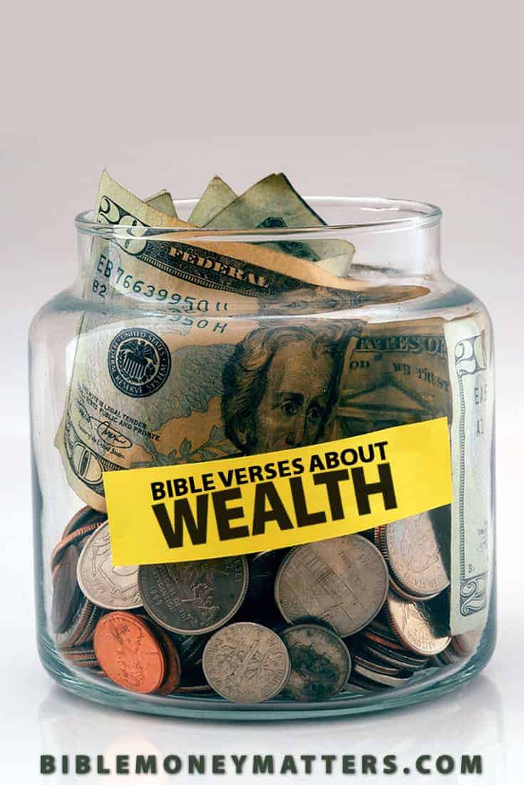 These Bible verses about wealth talk about how God has promised to provide for us, and why the desires for wealth can be so deceiving and easily become a false idol in our lives.