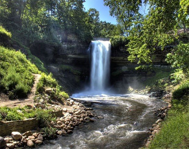 things to do in Minneapolis - Minnehaha Falls