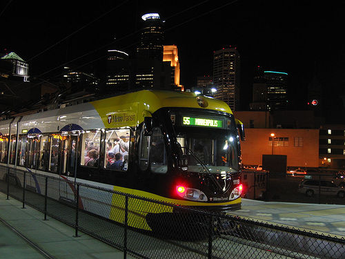 things to do in Minneapolis - Transportation options light rail