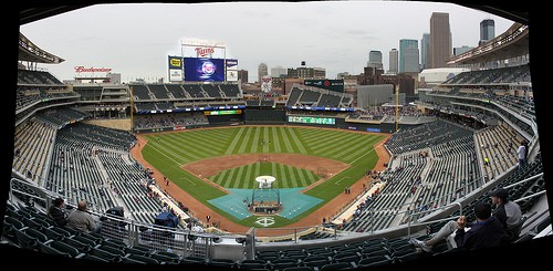 things to do in Minneapolis - Target Field Minnesota Twins