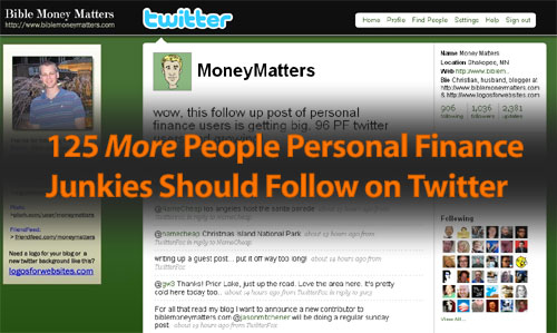125 More People Personal Finance Junkies Should Follow On Twitter