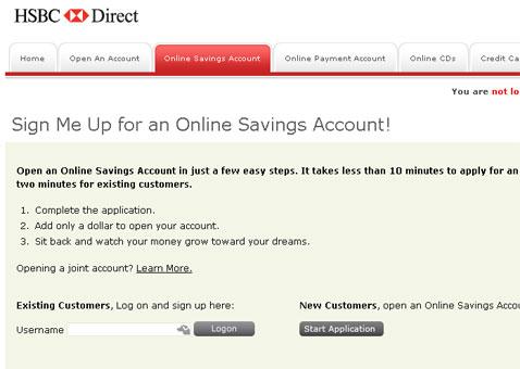HSBC Advance Bank Review: Online High Yield Savings Account
