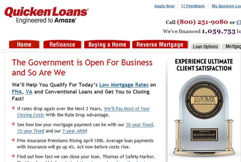 Quicken Loans Review
