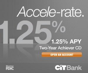 CIT Bank CD