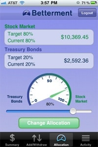 betterment iphone app