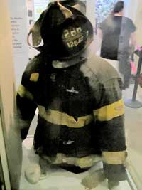 Firefighter Outfit From World Trade Center
