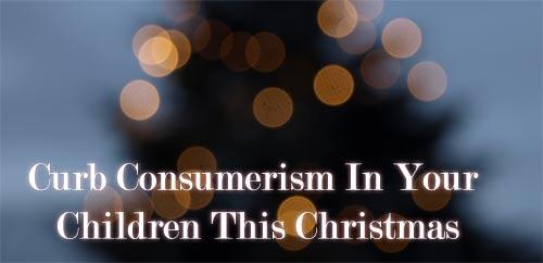 curb consumerism