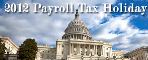 payroll tax holiday 2012