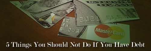 debt reduction no no