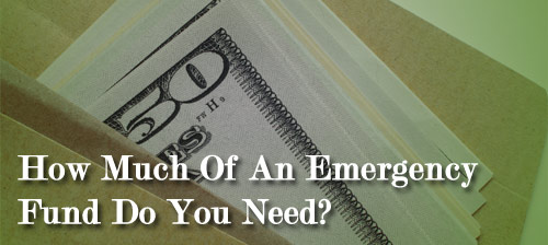 Emergency Fund Size