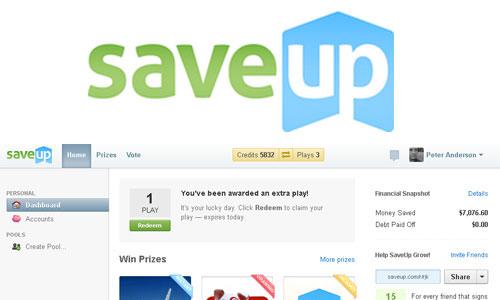 saveup dashboard