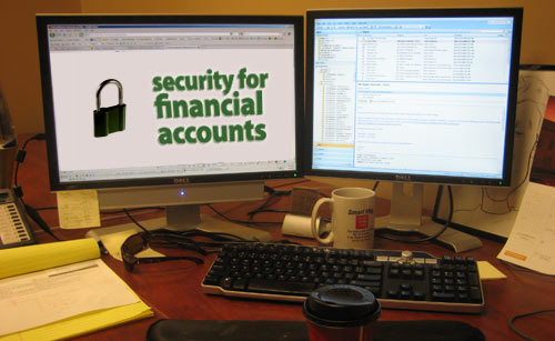 security for financial accounts
