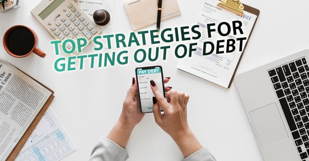 top strategies for getting out of debt