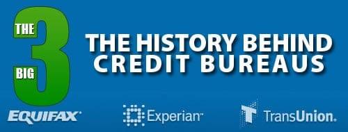 Top three credit bureaus