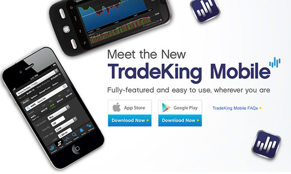 tradeking mobile apps