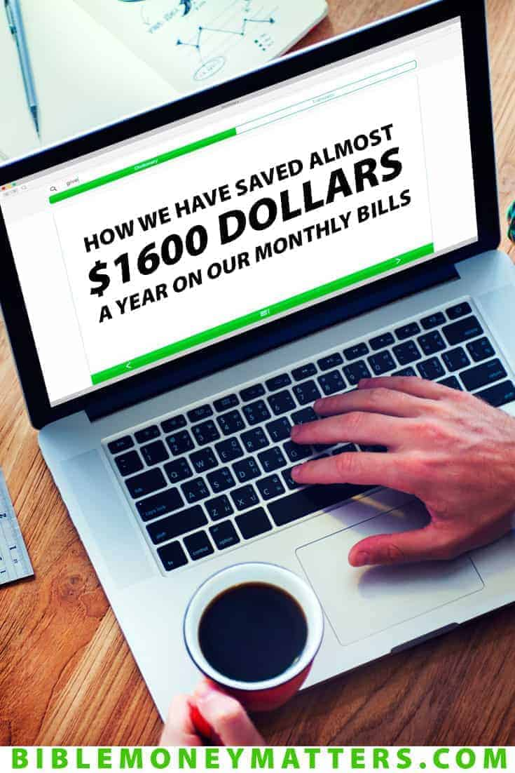 With just some time, research and a few phone calls we were able to save our family almost $1600/year on our regular monthly expenses. Here's how.