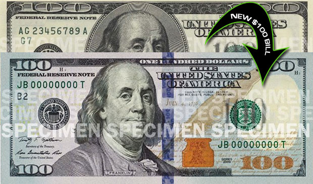 new 100 dollar bill in circulation